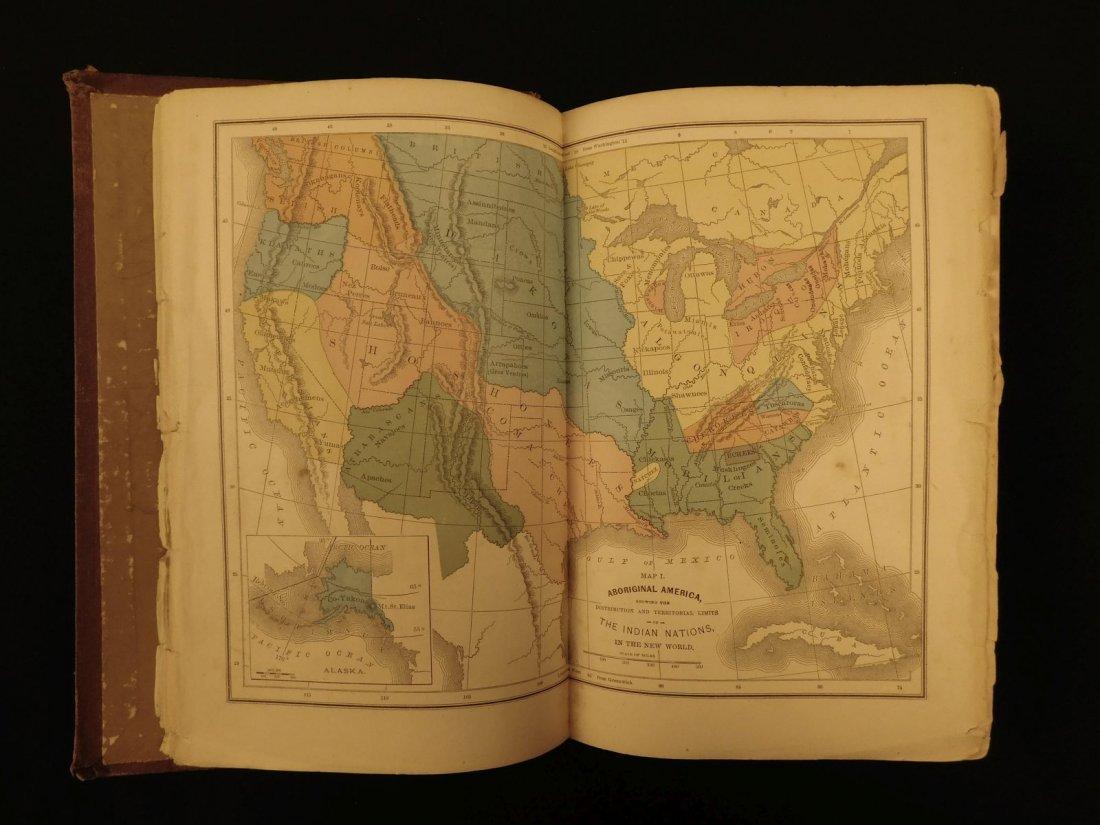 1877 1st ed Western Wilds Mormon Migration Native Ameri - 2