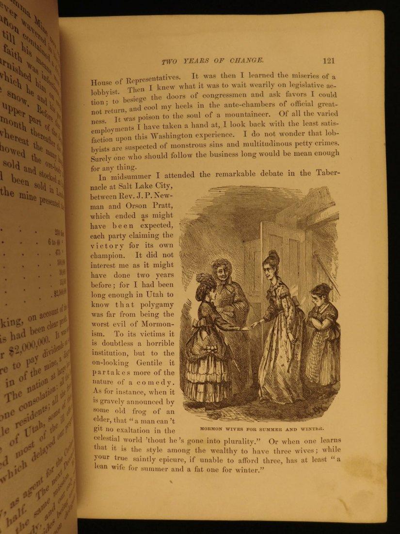1877 1st ed Western Wilds Mormon Migration Native Ameri - 5