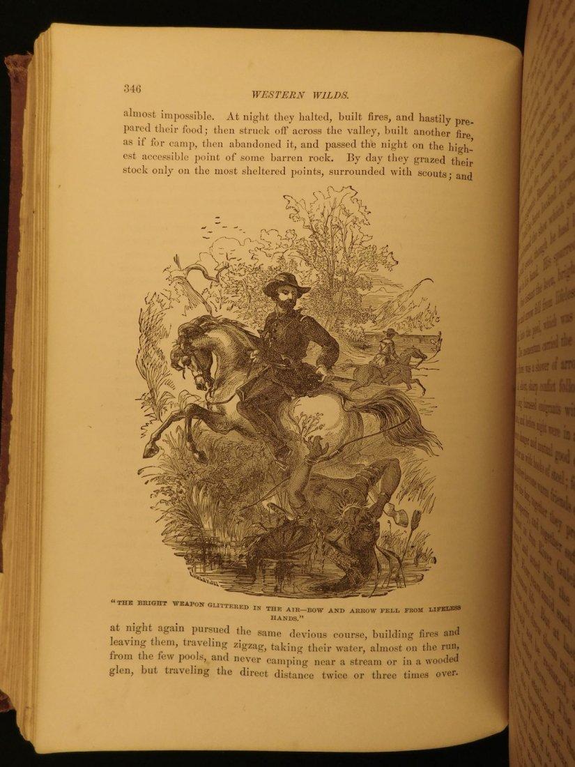1877 1st ed Western Wilds Mormon Migration Native Ameri - 6