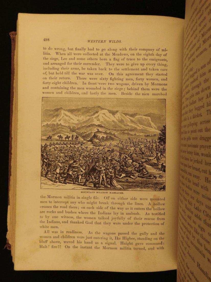 1877 1st ed Western Wilds Mormon Migration Native Ameri - 7