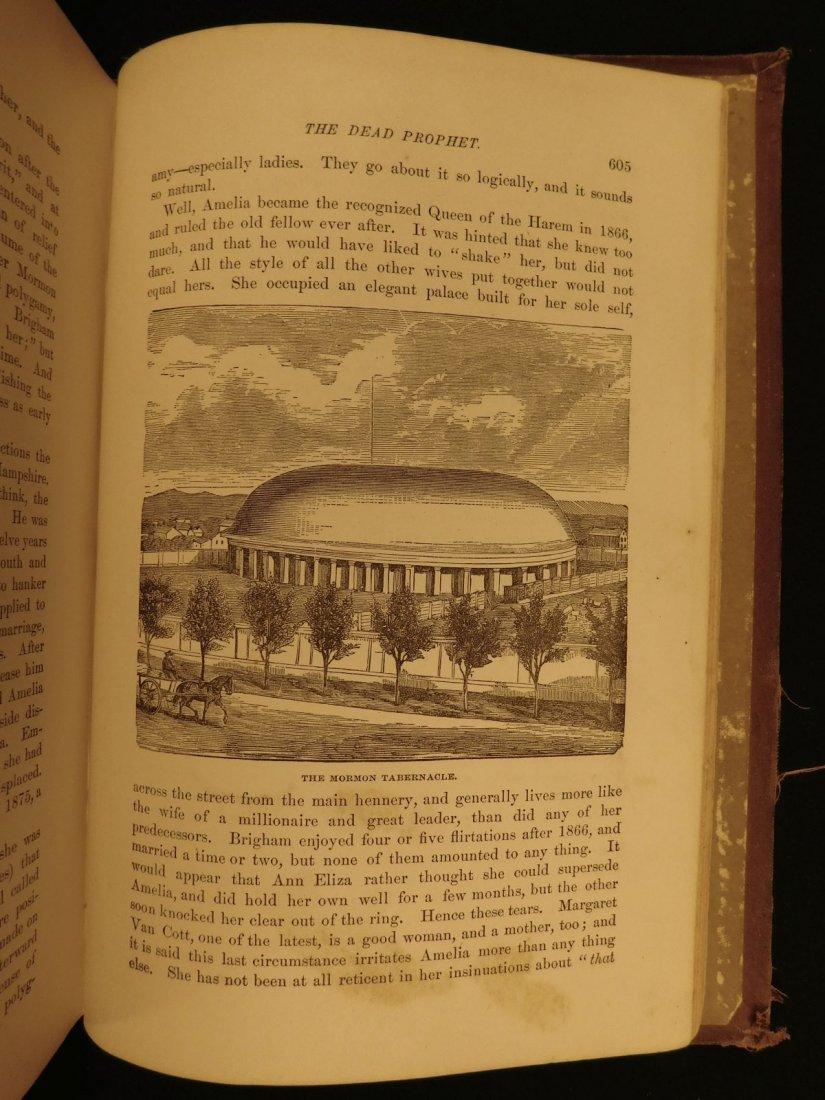 1877 1st ed Western Wilds Mormon Migration Native Ameri - 8