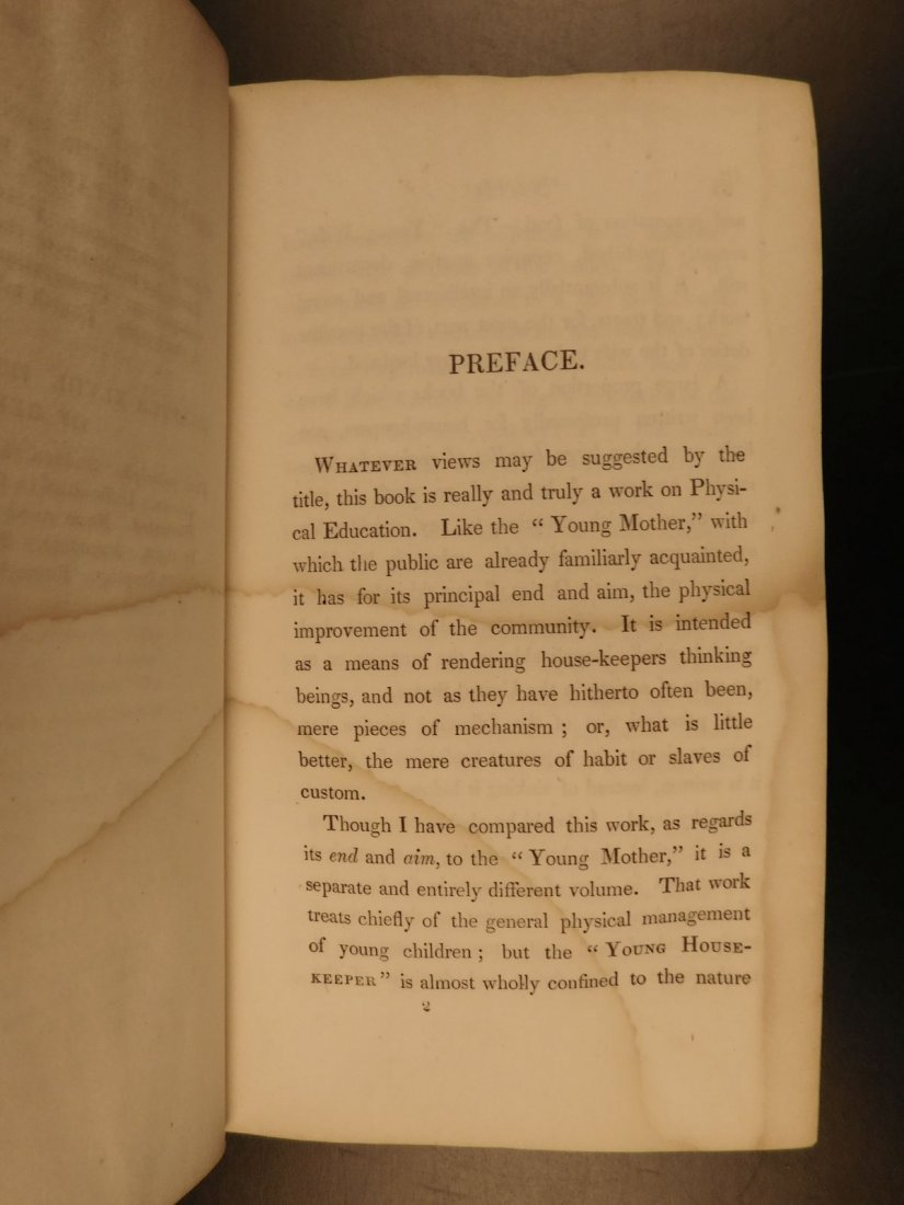 1851 Young House-Keeper Alcott Cookbook Recipes Cooking - 9