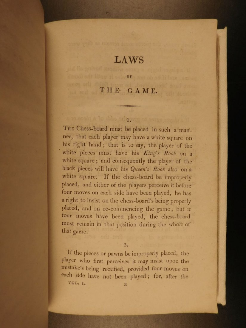 1808 1st ed CHESS Games Strategy Rules for Checkmate - 4