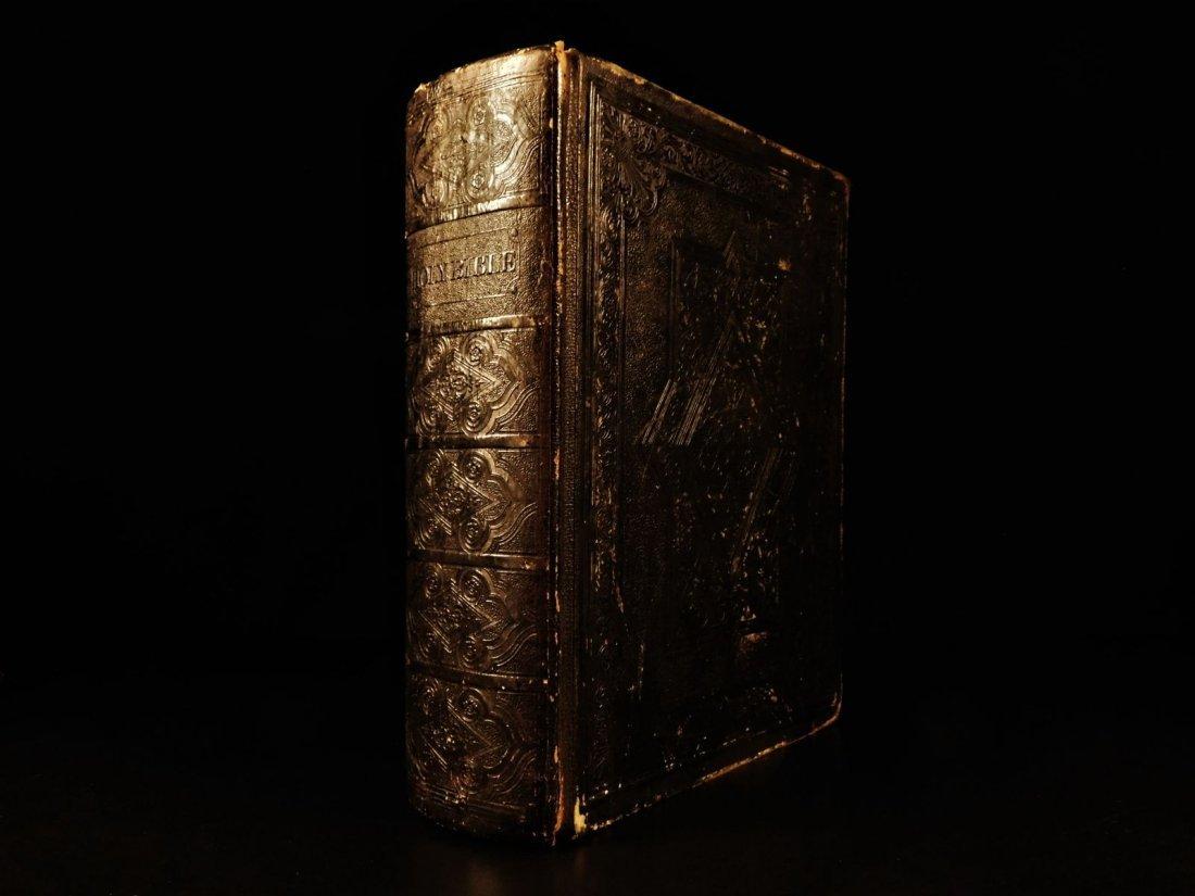 1839 King James Holy BIBLE Cambridge Church of England