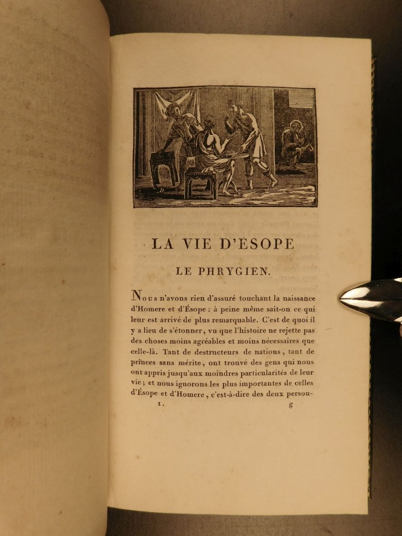 1811 Fables of Jean de Fontaine French Lit Aesop BEAUTI - 4