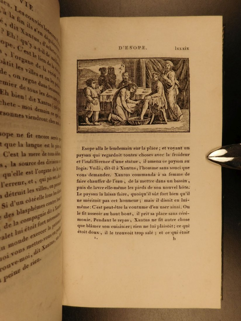 1811 Fables of Jean de Fontaine French Lit Aesop BEAUTI - 7
