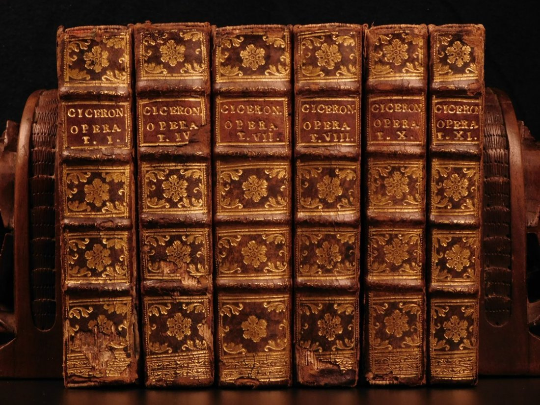 1692 Works of Cicero Politics Philosophy ROME Letters