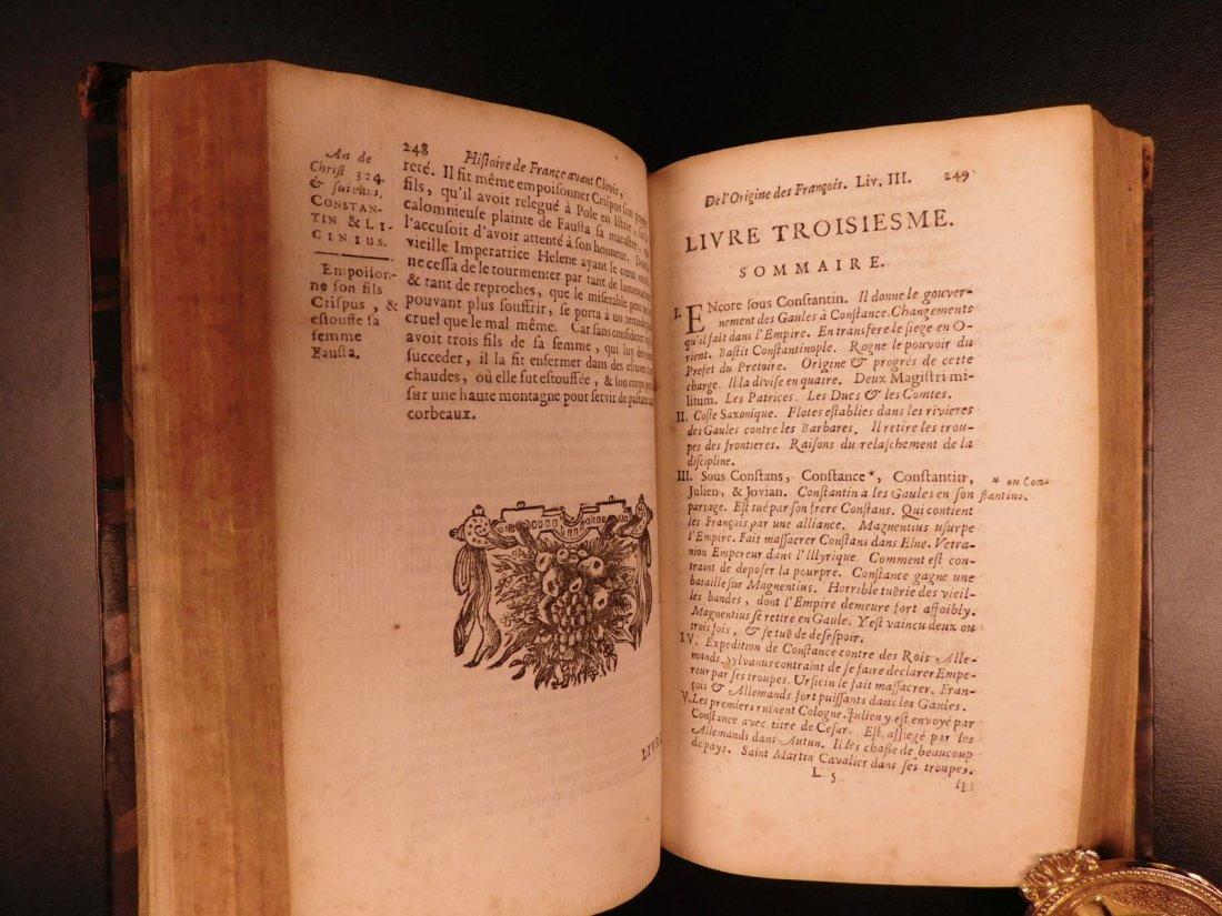 1696 History of France Clovis Pharamond Legends Saint - 10