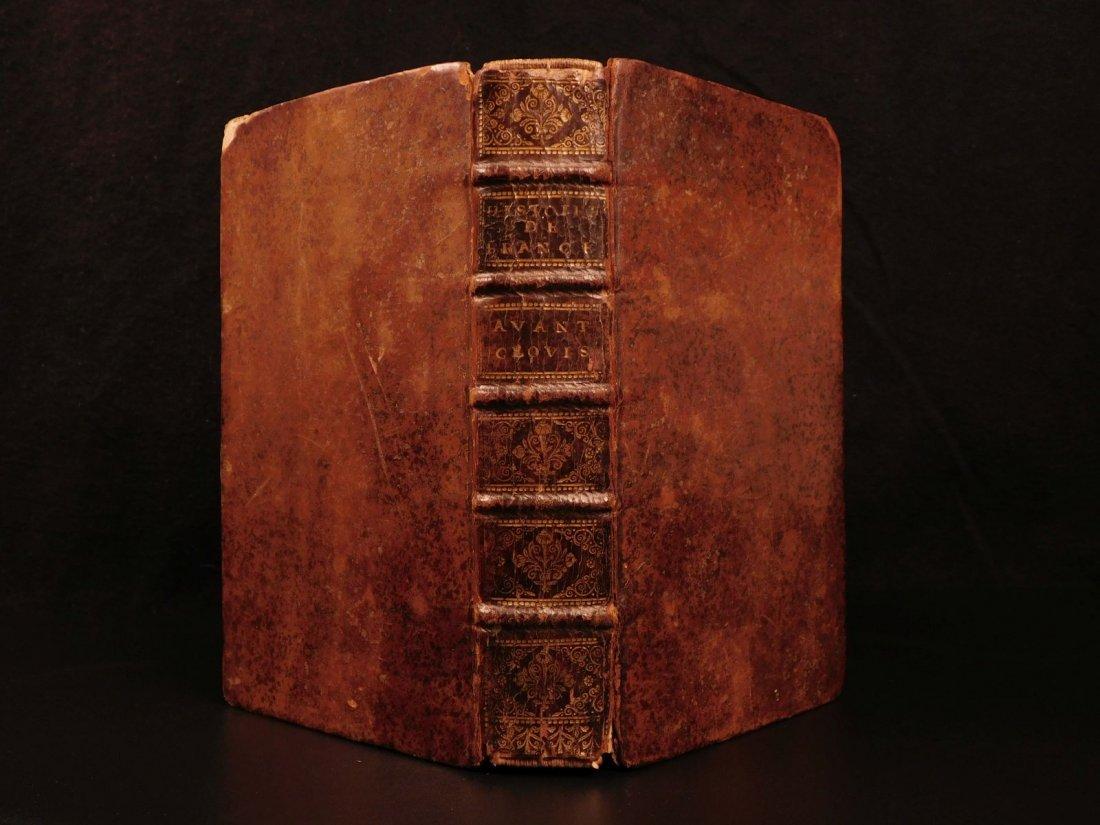 1696 History of France Clovis Pharamond Legends Saint