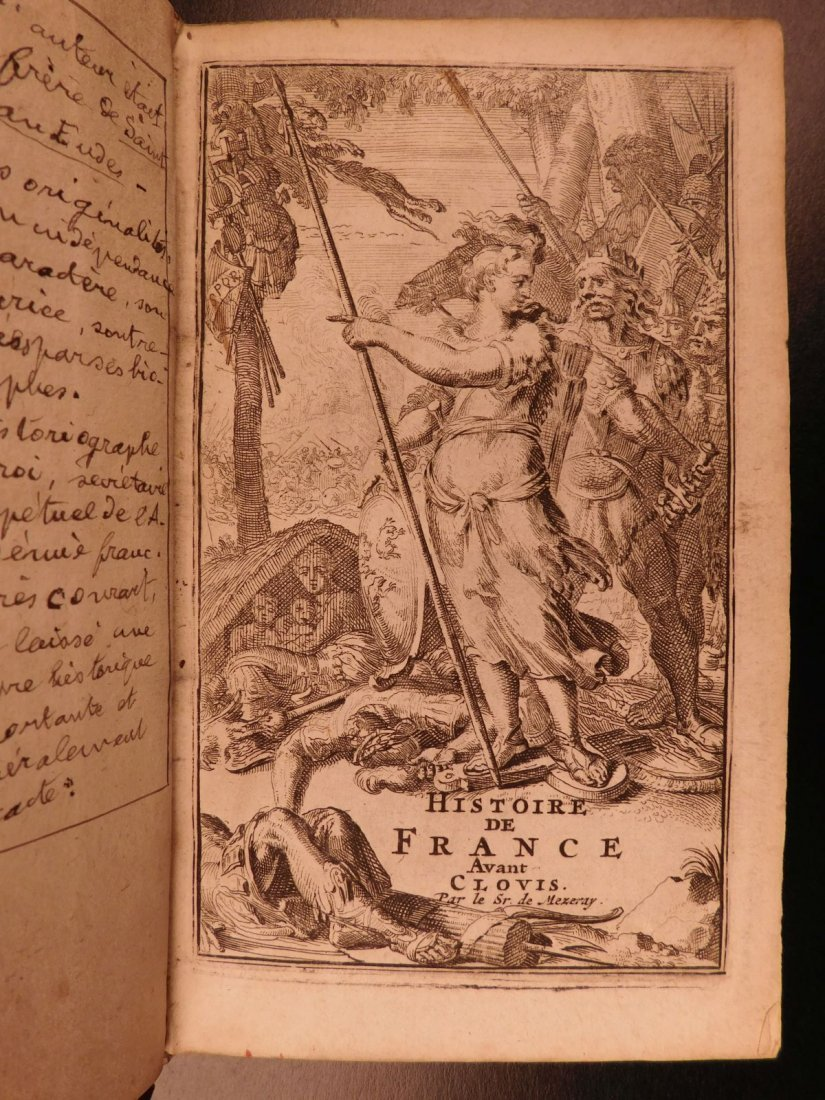 1696 History of France Clovis Pharamond Legends Saint - 2
