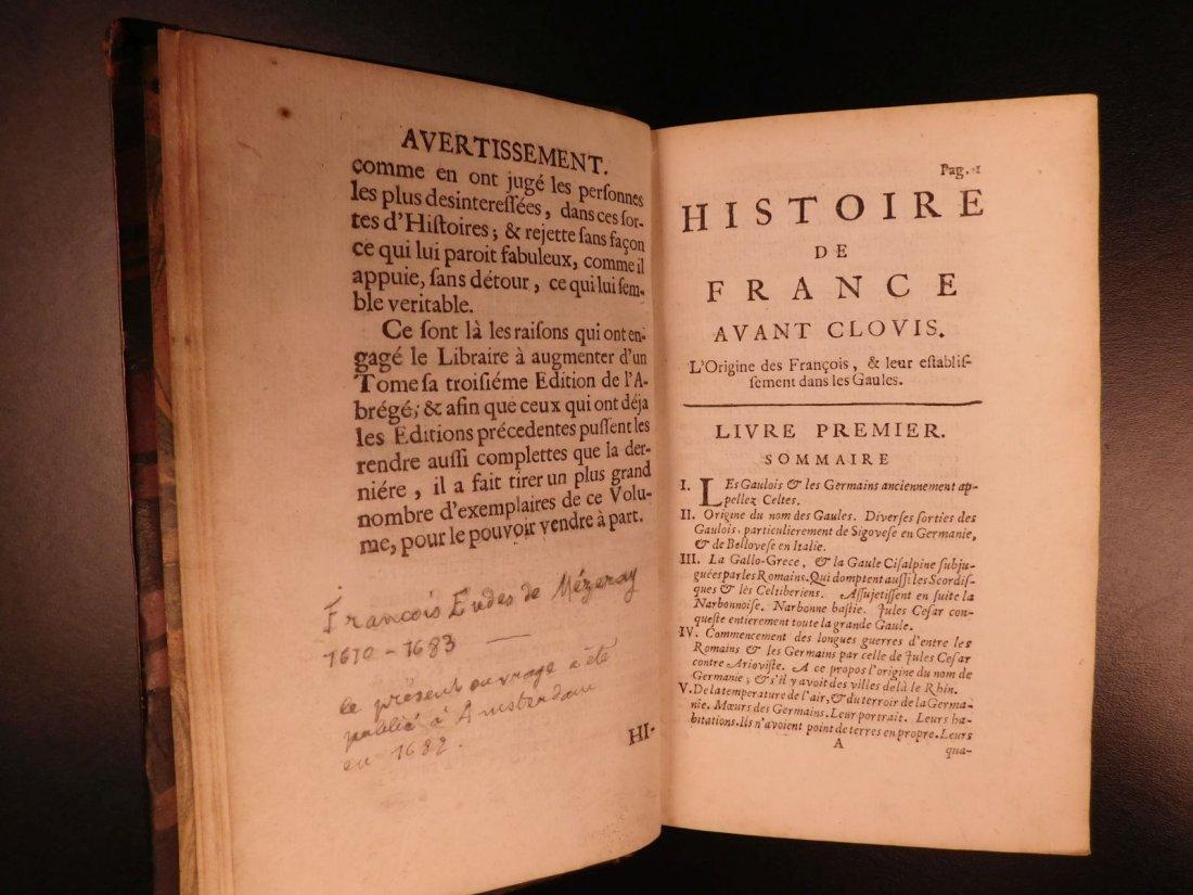 1696 History of France Clovis Pharamond Legends Saint - 5