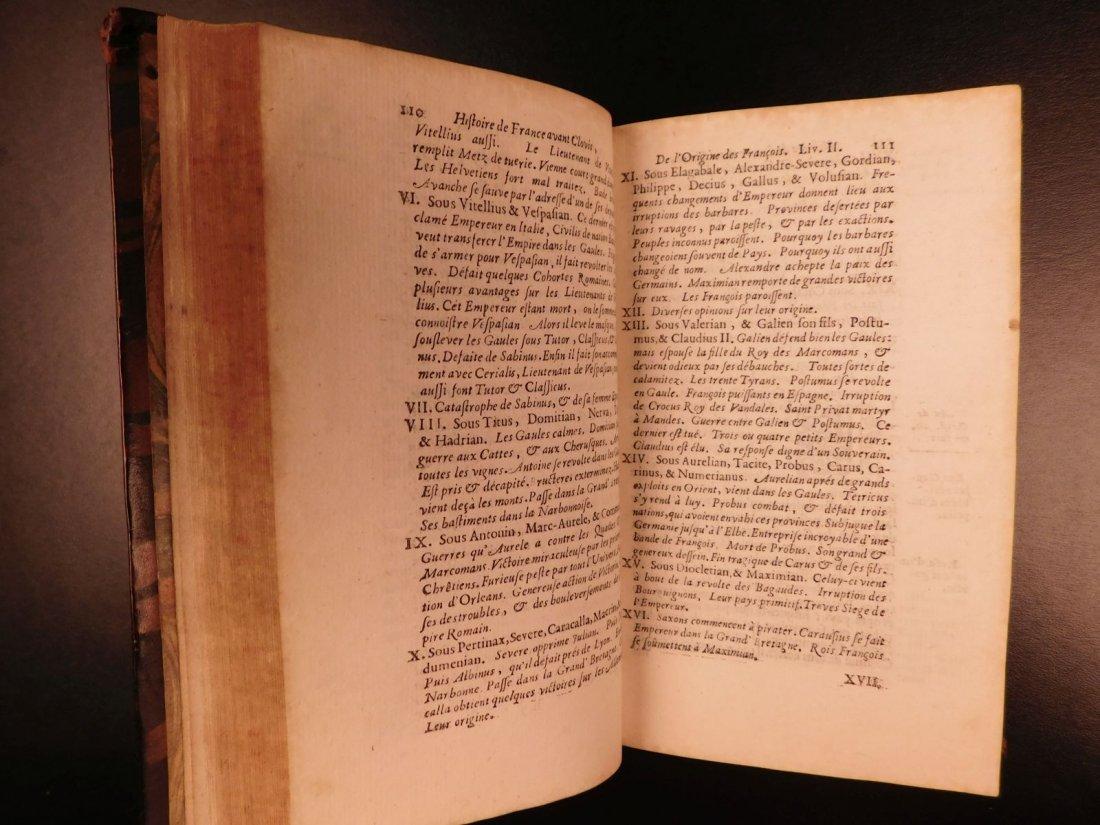 1696 History of France Clovis Pharamond Legends Saint - 8