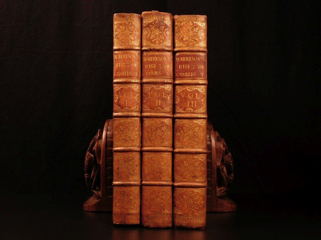 1769 1st ed History of Charles V Holy Roman Empire