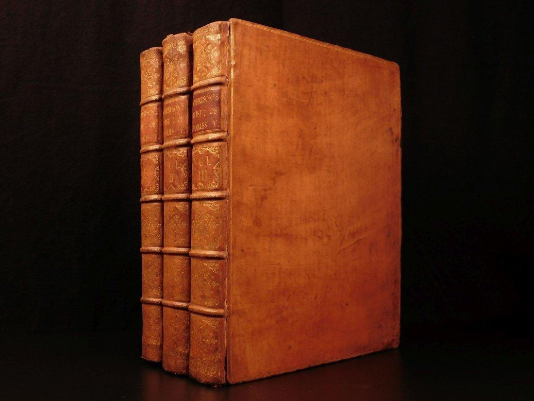 1769 1st ed History of Charles V Holy Roman Empire - 2