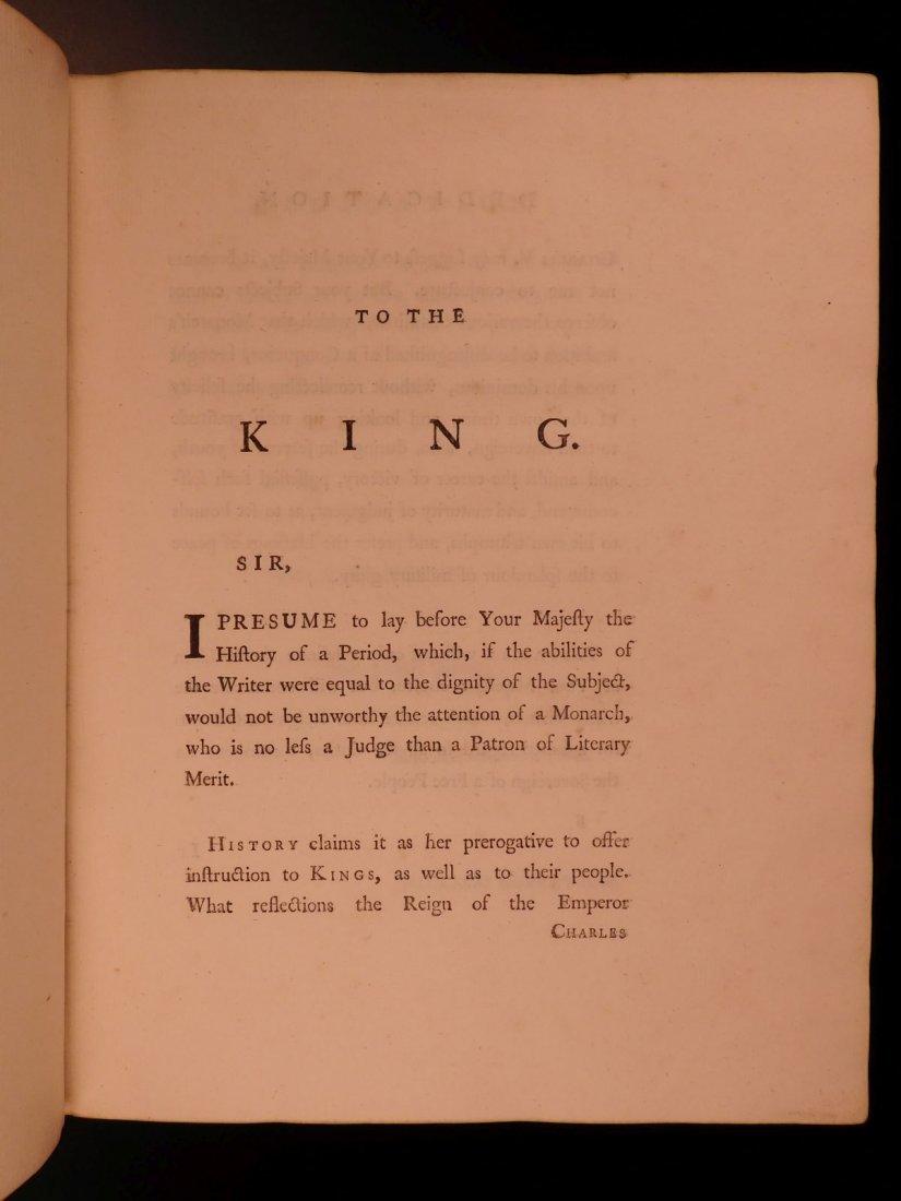 1769 1st ed History of Charles V Holy Roman Empire - 4
