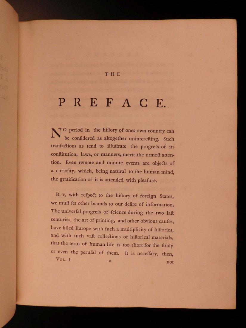 1769 1st ed History of Charles V Holy Roman Empire - 5