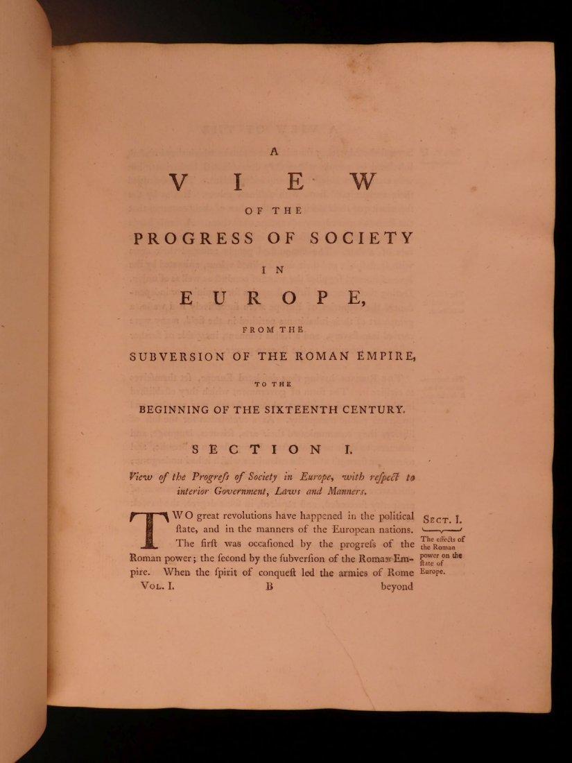 1769 1st ed History of Charles V Holy Roman Empire - 6
