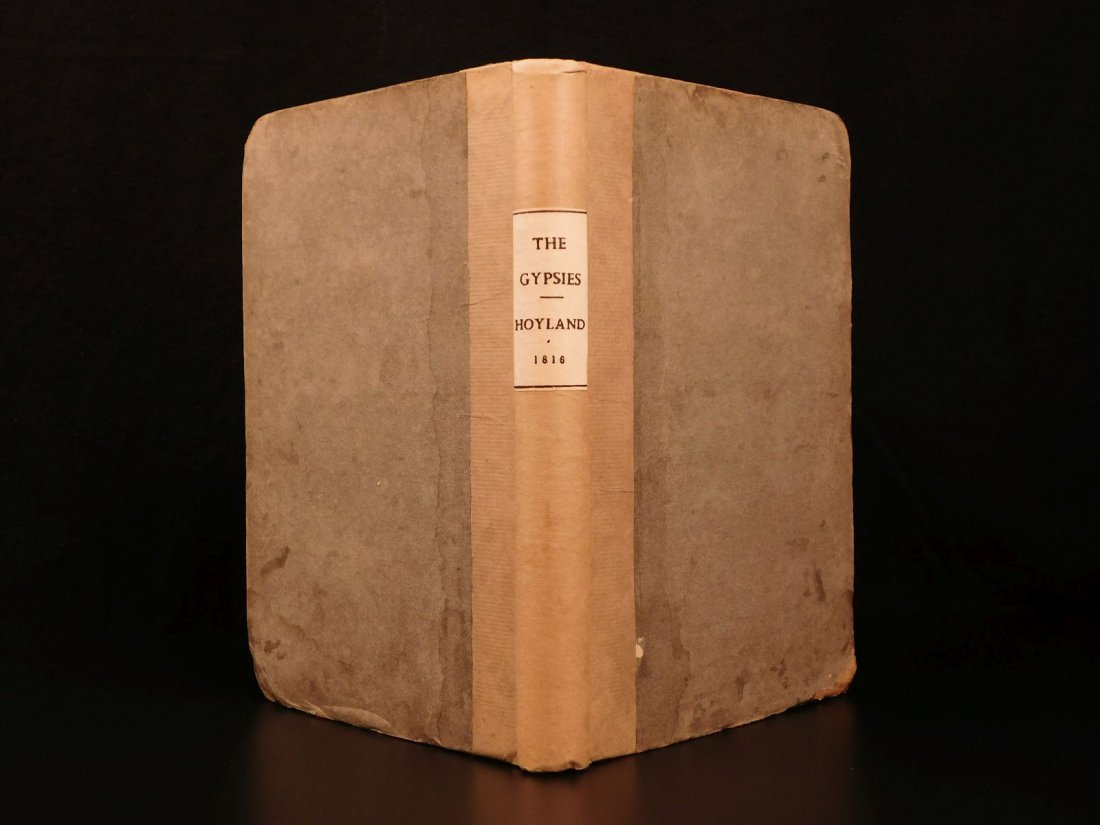 1816 1st ed Survey of GYPSIES Customs Hoyland Romani