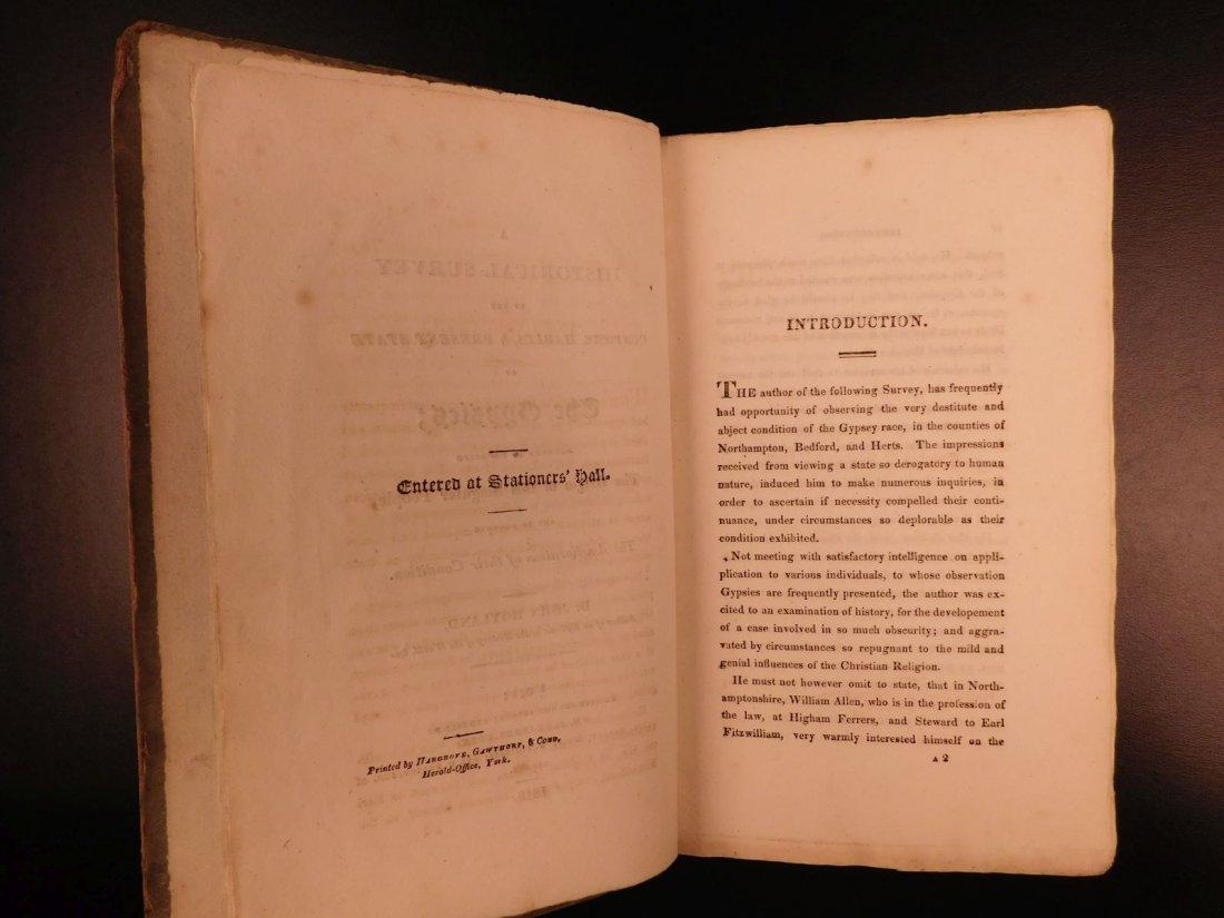1816 1st ed Survey of GYPSIES Customs Hoyland Romani - 3