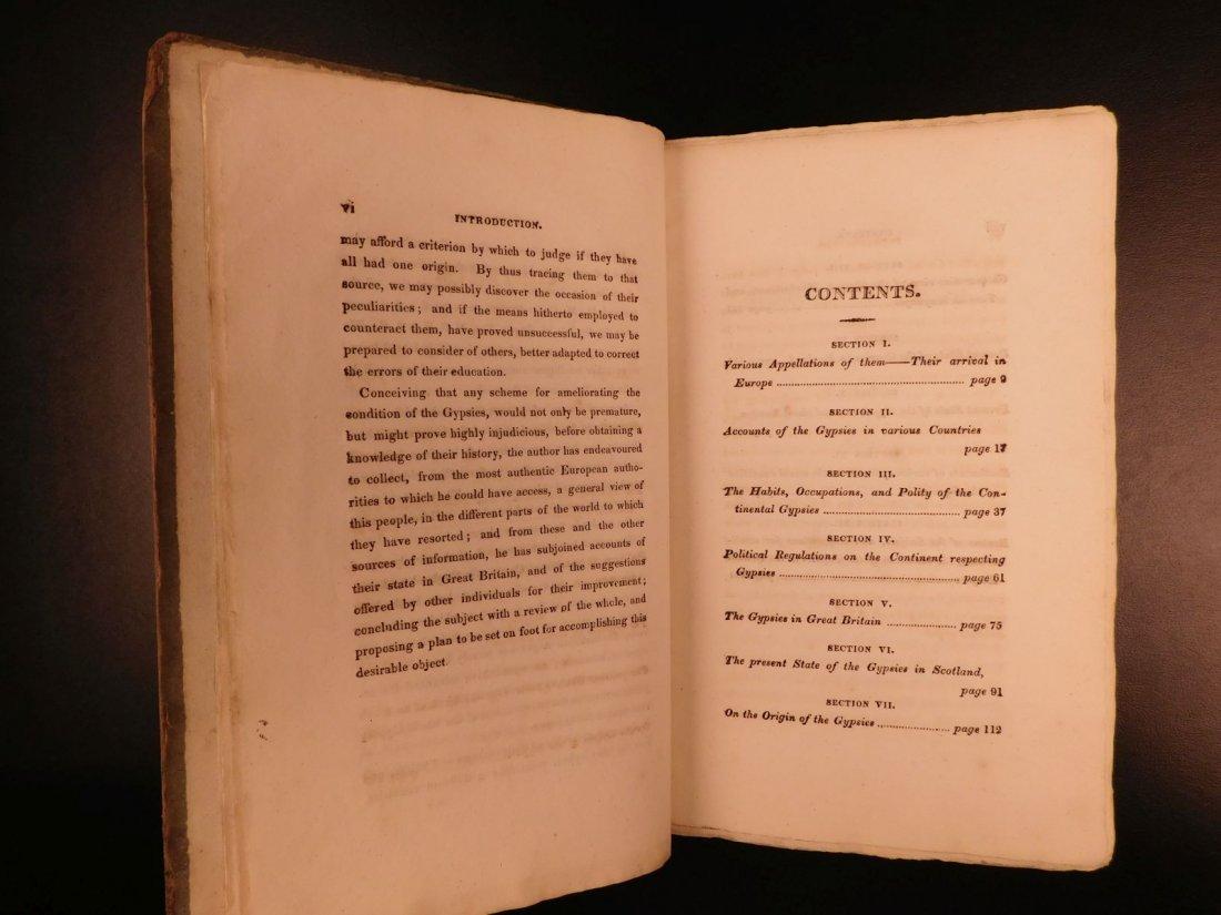 1816 1st ed Survey of GYPSIES Customs Hoyland Romani - 4