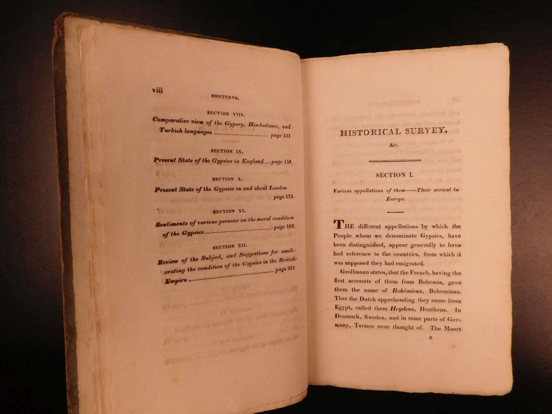 1816 1st ed Survey of GYPSIES Customs Hoyland Romani - 5