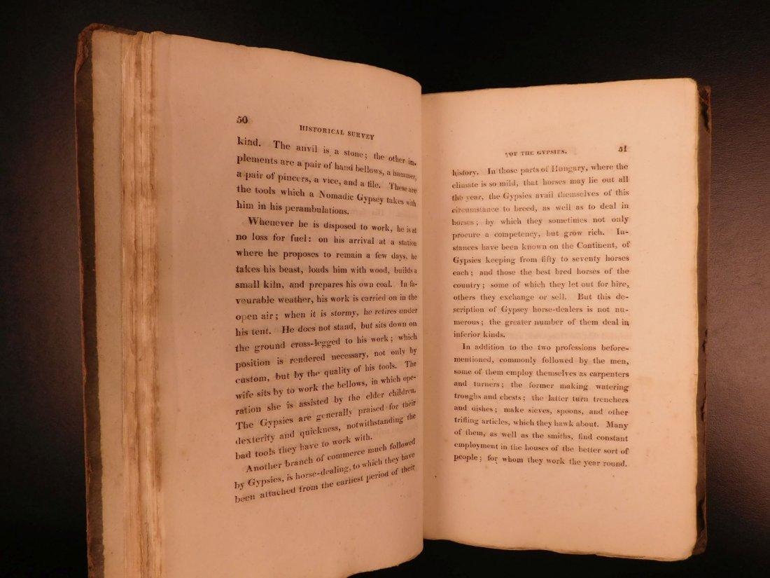 1816 1st ed Survey of GYPSIES Customs Hoyland Romani - 7