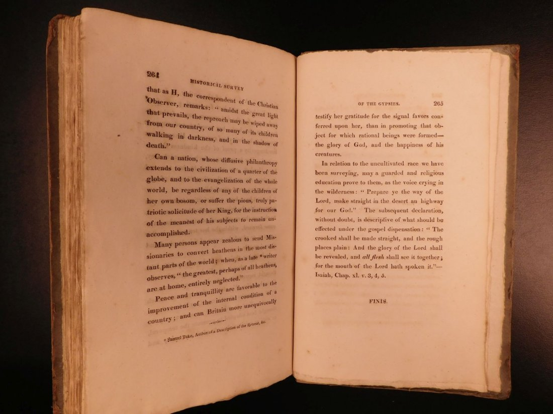 1816 1st ed Survey of GYPSIES Customs Hoyland Romani - 9