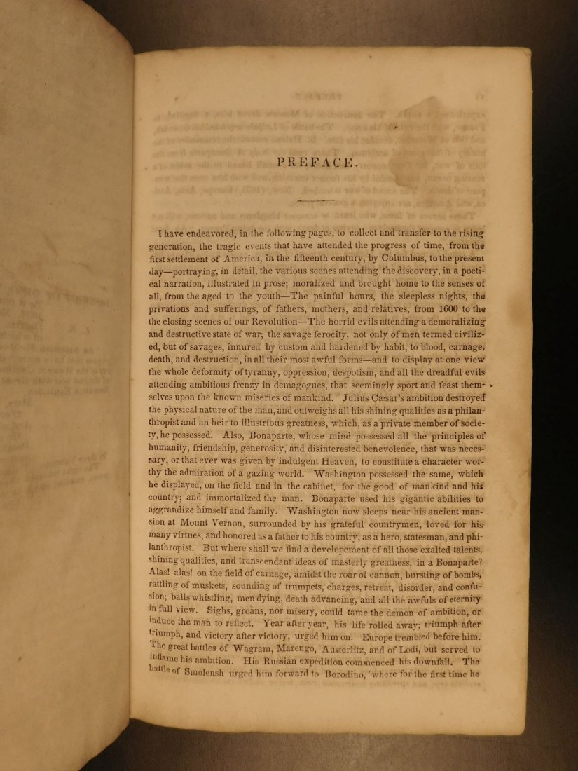 1839 American Field of Mars Indian WAR & Discovery of - 4