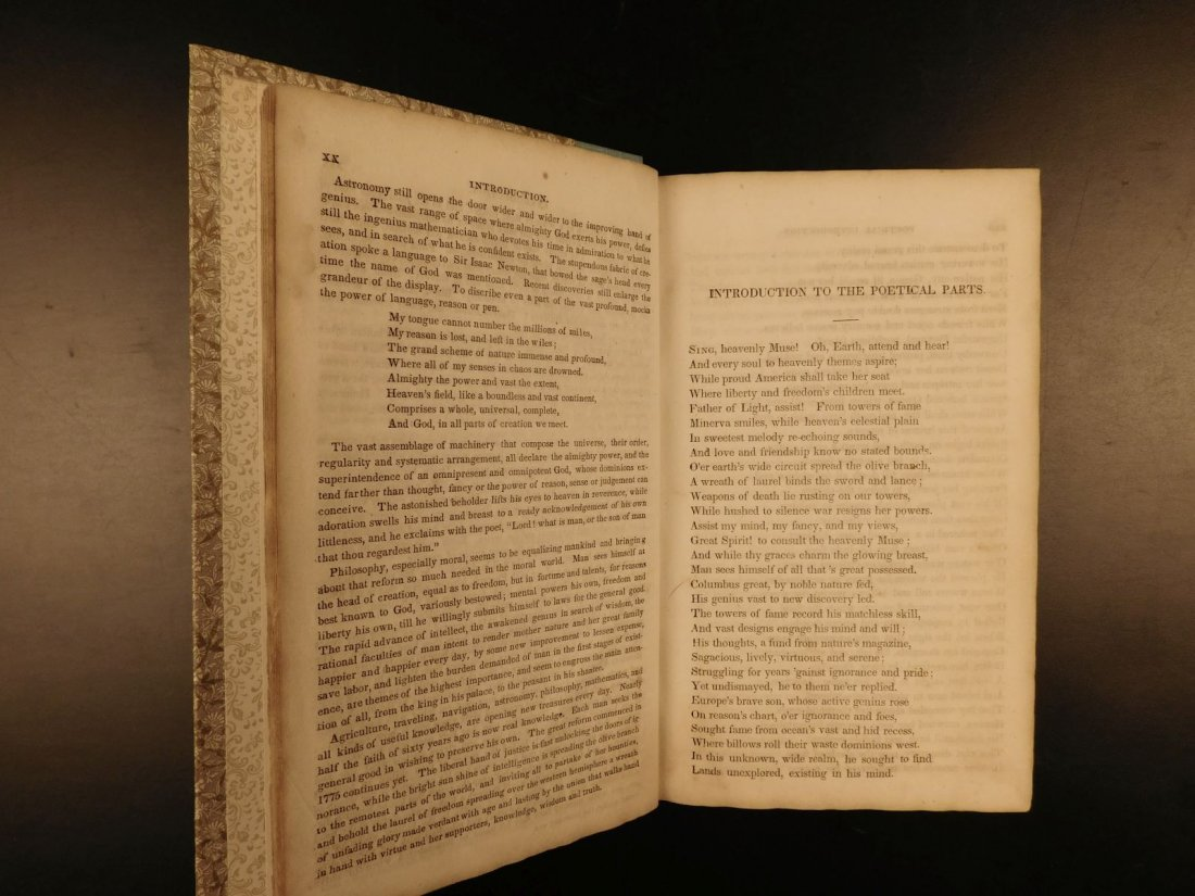 1839 American Field of Mars Indian WAR & Discovery of - 5