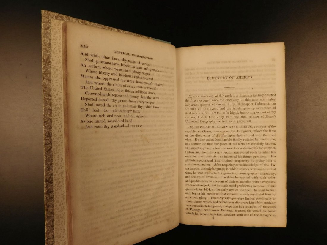 1839 American Field of Mars Indian WAR & Discovery of - 6