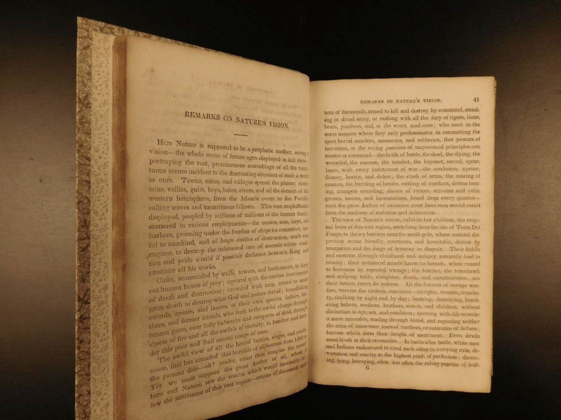 1839 American Field of Mars Indian WAR & Discovery of - 8