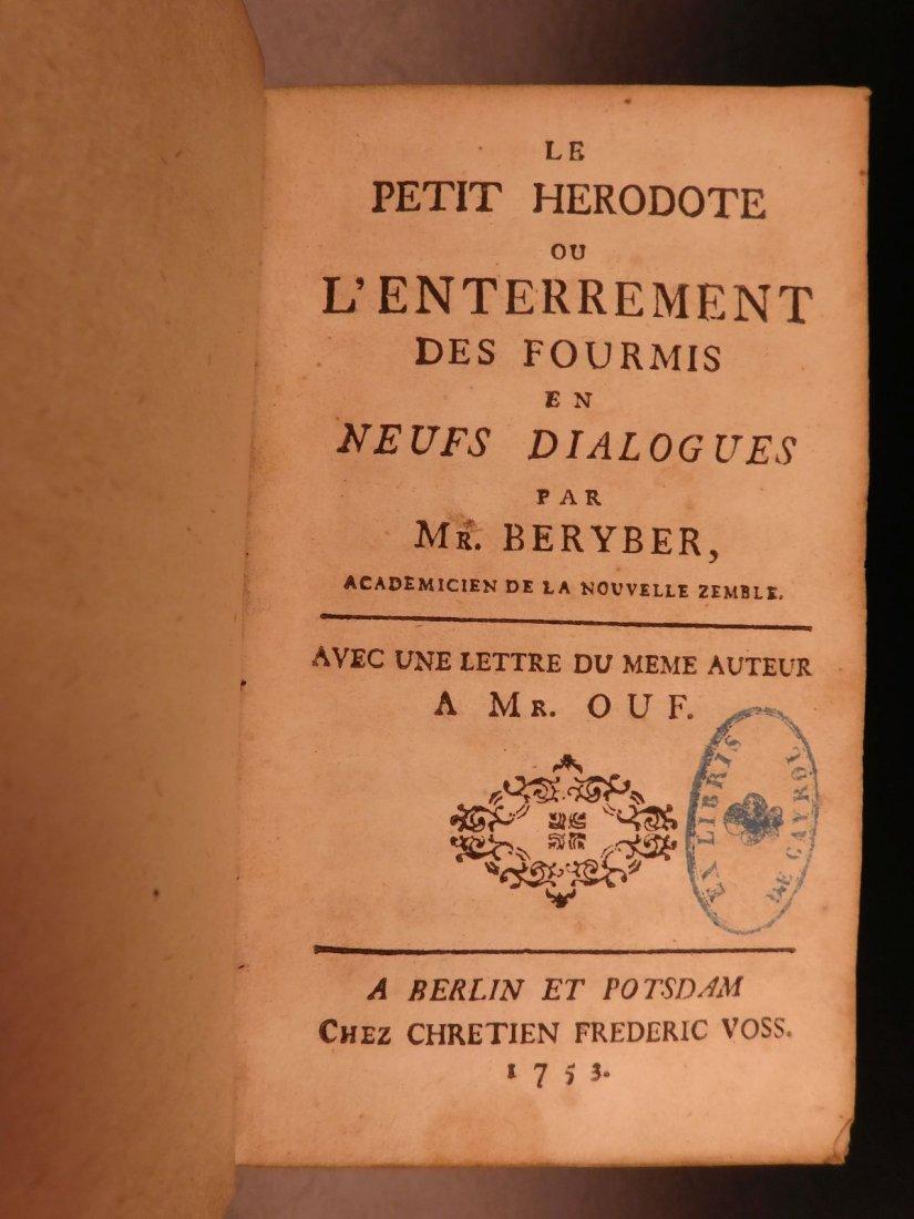 1753 EXQUISITE Mythology Music ART Le Petit Herodote Gi - 4