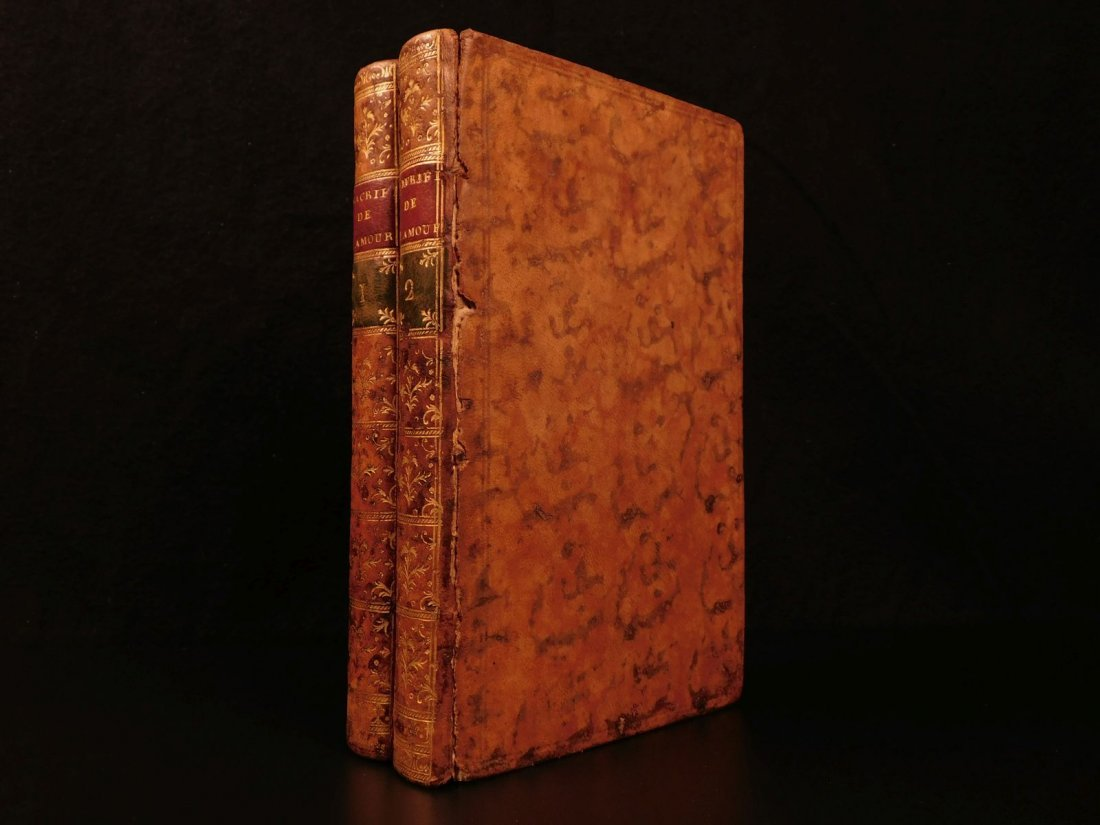 1772 Letters of Victomtesse Senanges by Claude Dorat He - 3