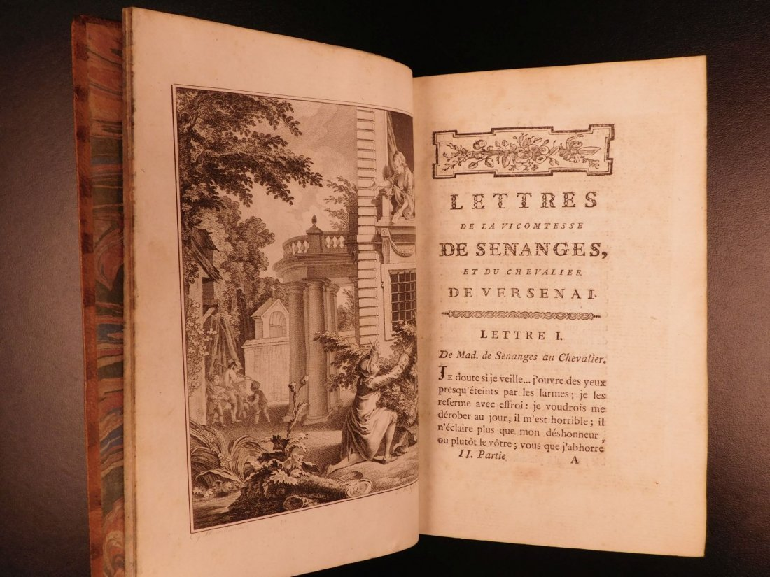 1772 Letters of Victomtesse Senanges by Claude Dorat He - 9