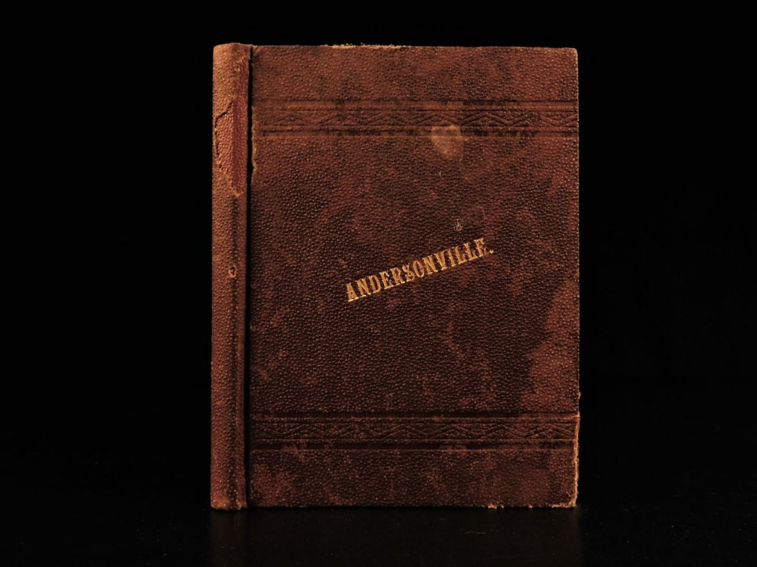 1887 1ed Andersonville James Compton Inhumane Civil War