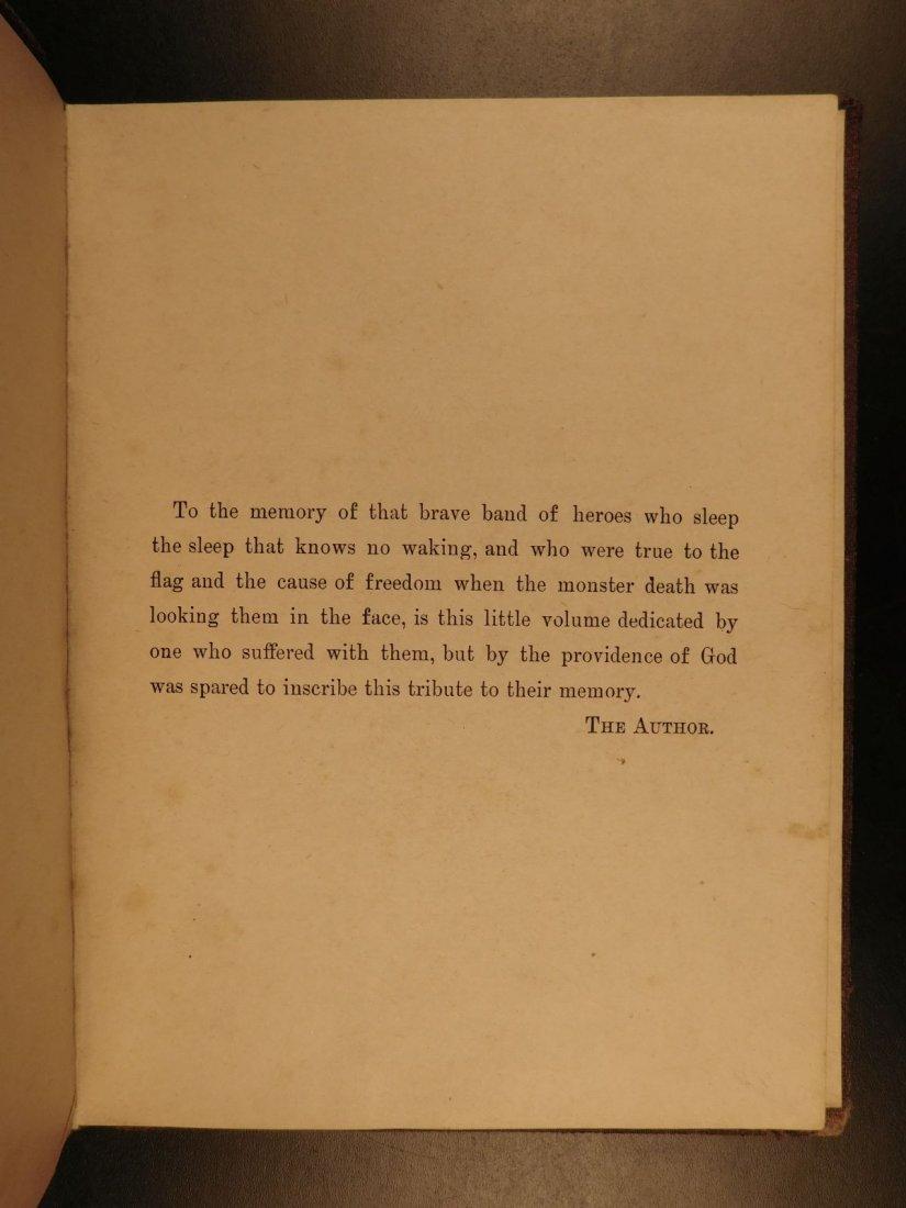 1887 1ed Andersonville James Compton Inhumane Civil War - 3