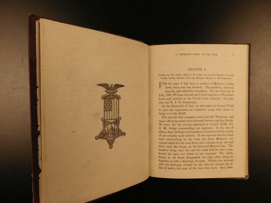 1887 1ed Andersonville James Compton Inhumane Civil War - 5