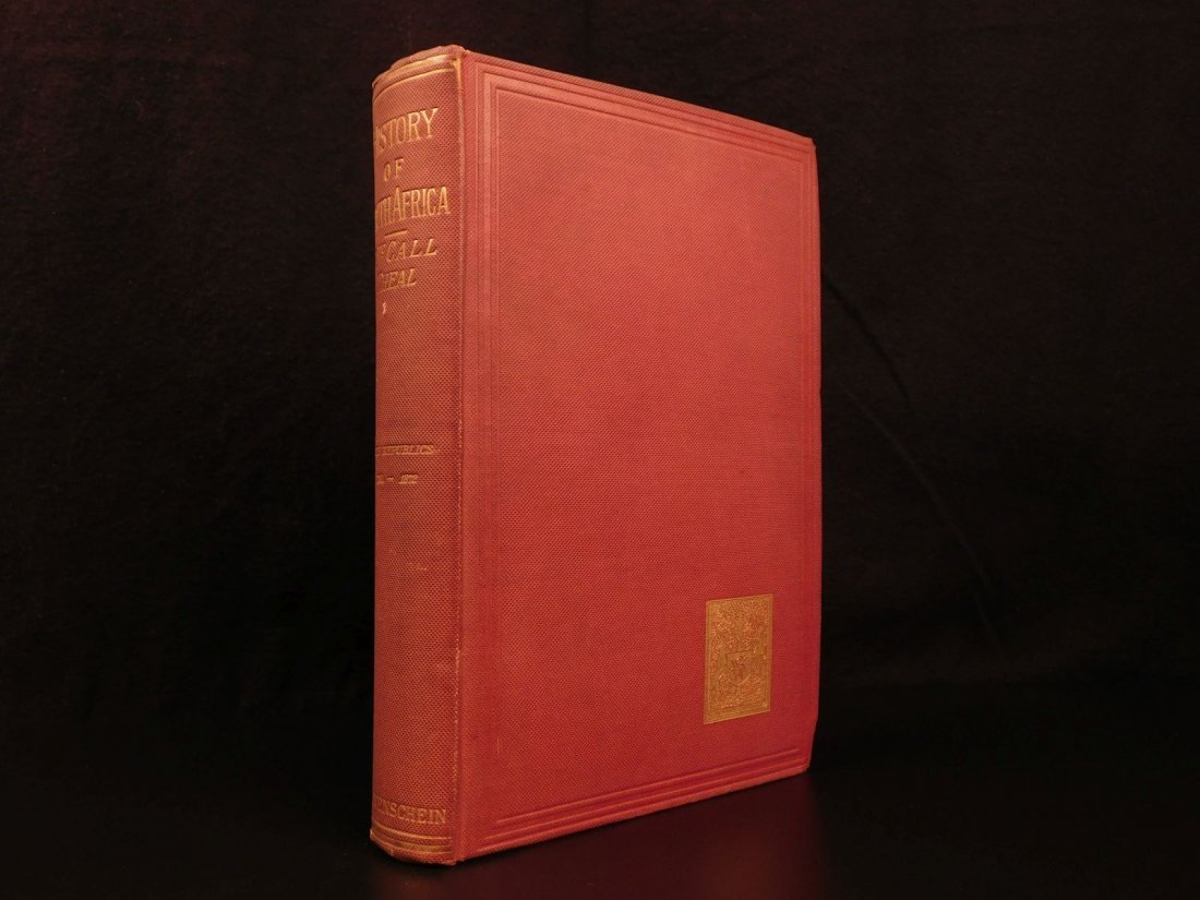 1889 History of South Africa by Theal Orange Free State