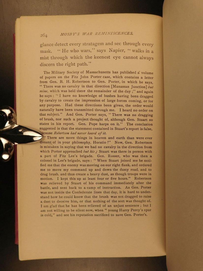 1898 John Mosby Civil War Reminiscences Confederate Vir - 10