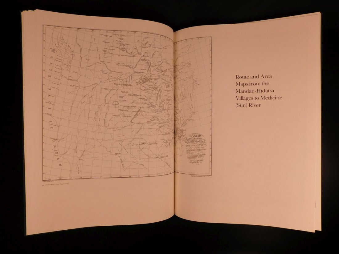 1983 1st ed MASSIVE Atlas of Lewis & Clark Expedition J - 9