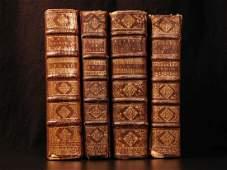 1696 BIBLE 4 Rare Book Lot de Sacy New Testament Bible