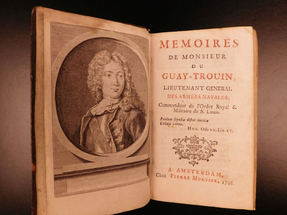 1746 Pirates BRAZIL French NAVY Louis XIV Illustrated - 3
