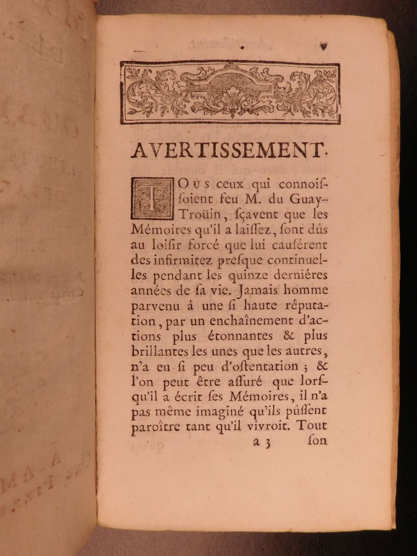 1746 Pirates BRAZIL French NAVY Louis XIV Illustrated - 4