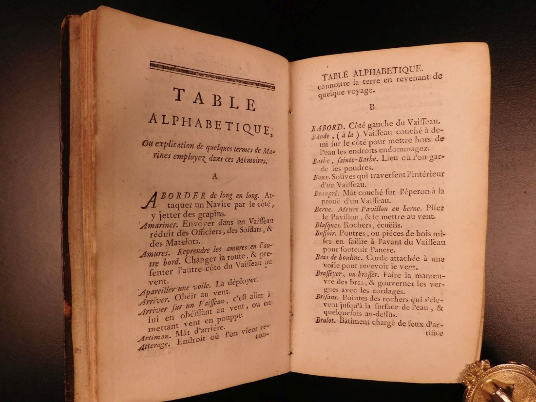 1746 Pirates BRAZIL French NAVY Louis XIV Illustrated - 5