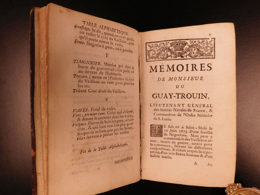 1746 Pirates BRAZIL French NAVY Louis XIV Illustrated - 6