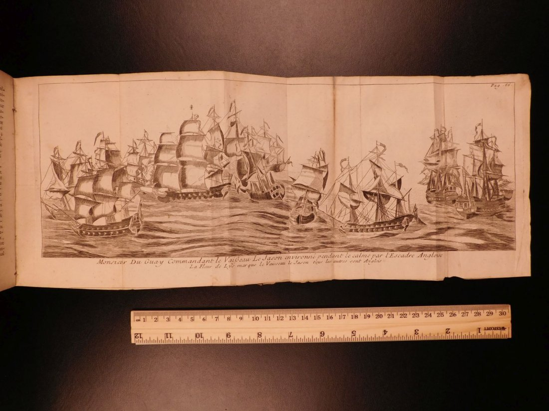 1746 Pirates BRAZIL French NAVY Louis XIV Illustrated - 7