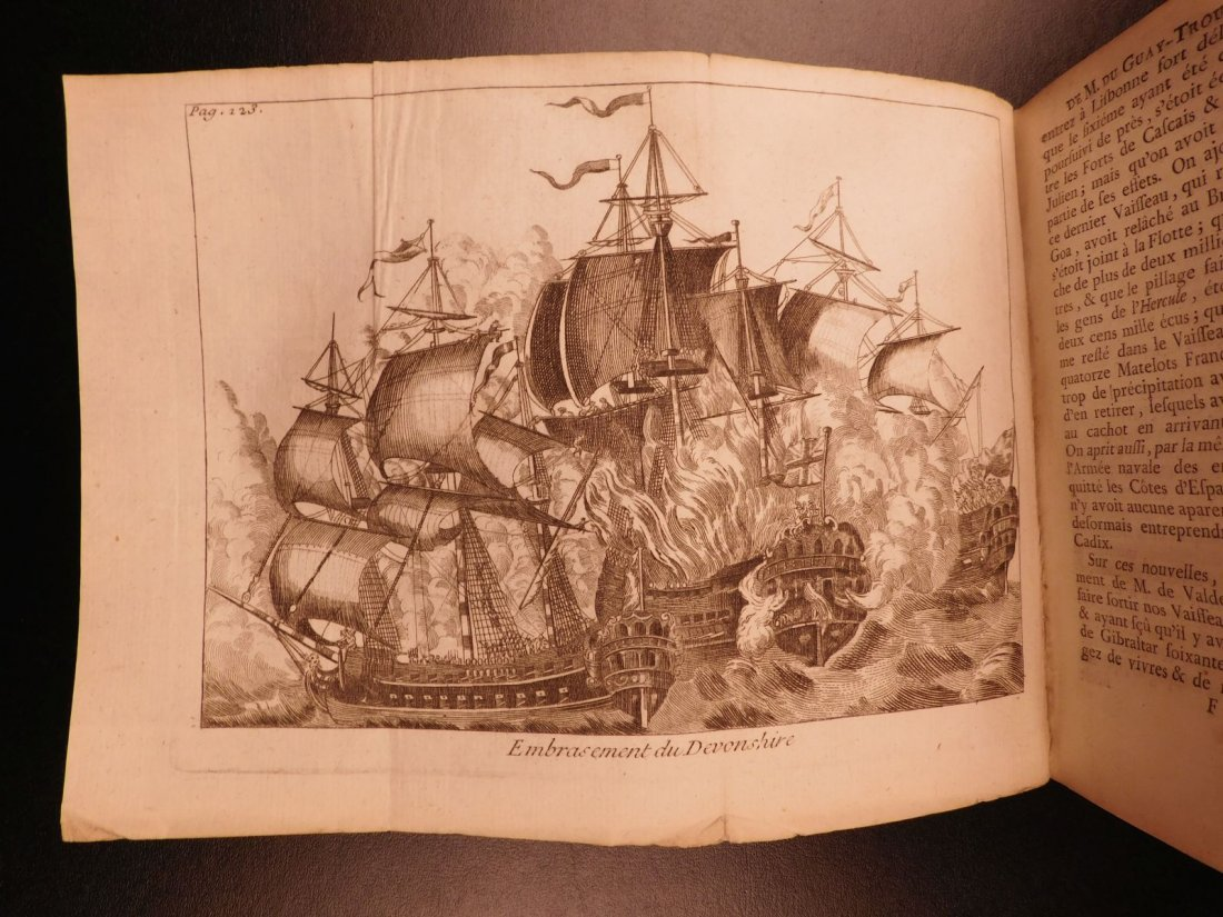 1746 Pirates BRAZIL French NAVY Louis XIV Illustrated - 8
