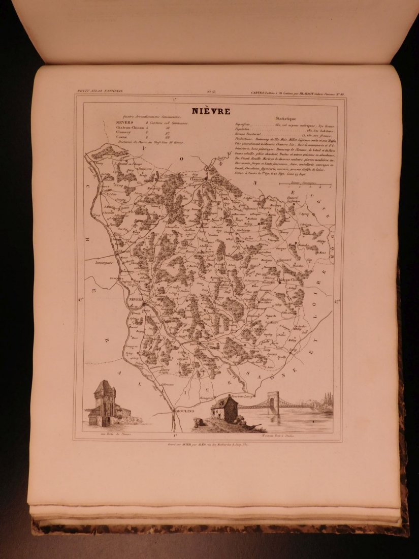 1833 ATLAS MAPS Cartography Navigation Voyages - 10