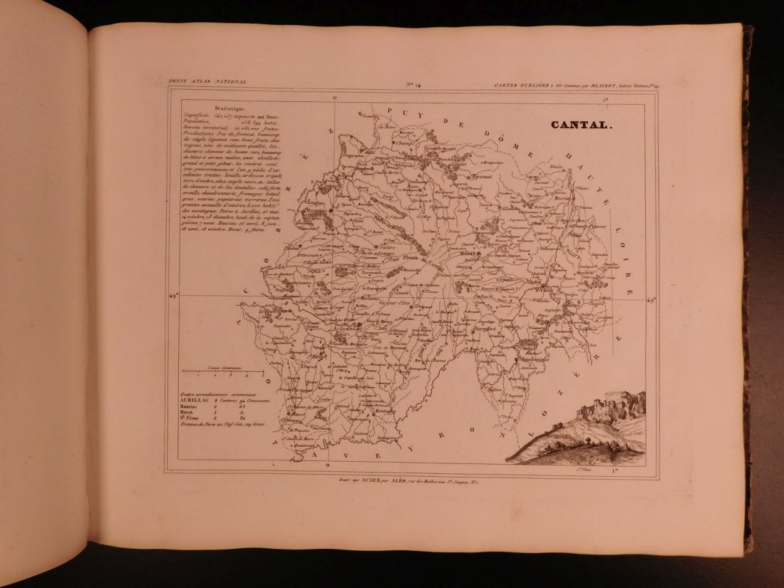 1833 ATLAS MAPS Cartography Navigation Voyages - 6