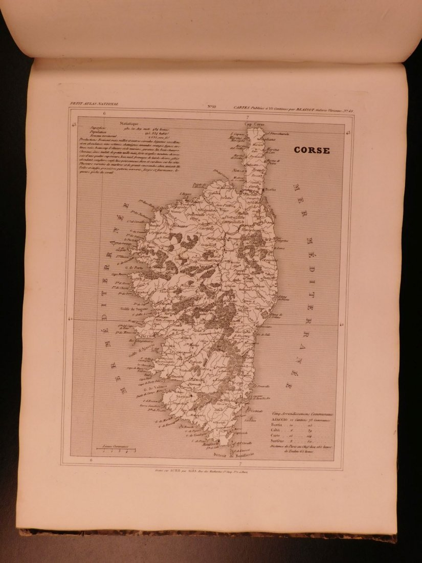 1833 ATLAS MAPS Cartography Navigation Voyages - 7